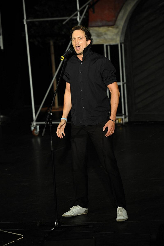 Nejpohlednější zpěvák na konkurzu byl Radim Schwab.