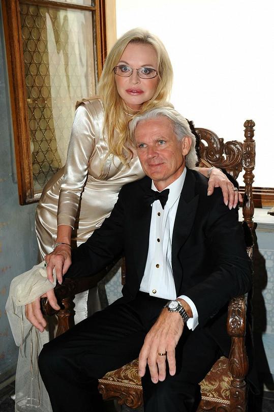 Jana s novomanželem Martynemo