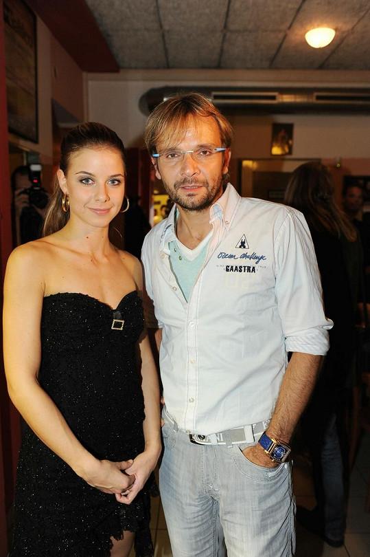 Muzikálová Sandy Nela Pocisková a Ján Ďurovčík jsou partneři ve skutečném životě.
