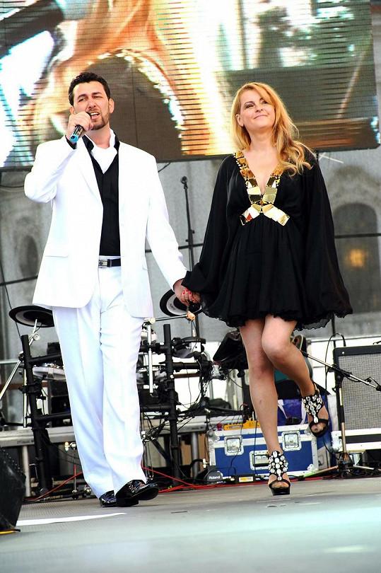 Domenico Martucci a Iveta Bartošová.
