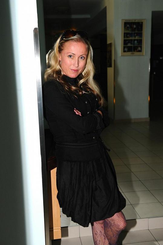 Zuzana je velmi půvabná žena.
