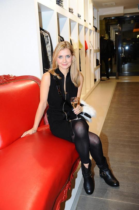 Lucie Koňaříková Salamé moderovala v bagančatech.