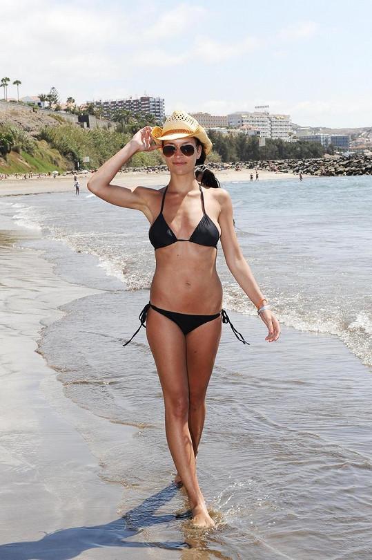 Nikola Plzáková kvůli stresu za poslední rok hodně zhubla.