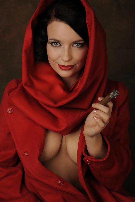 Malvína Pachlová je krásná žena.