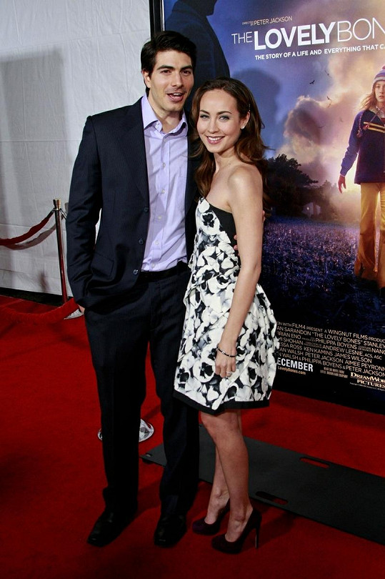 Brandon Routh a Courtney Ford.