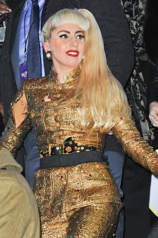 Lady Gaga je rovněž jeho idolem.