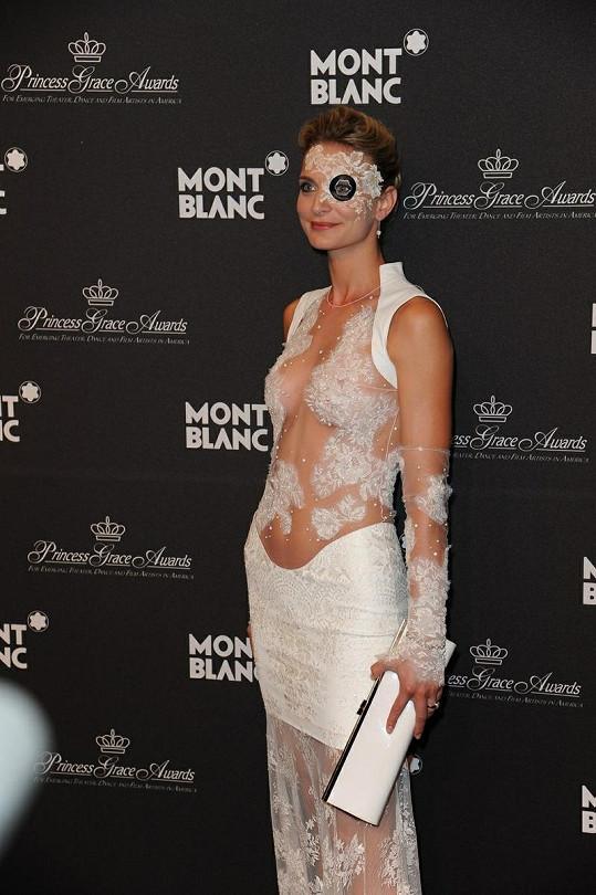 Sarah Marshall zvolila vskutku extravagantní kostým.