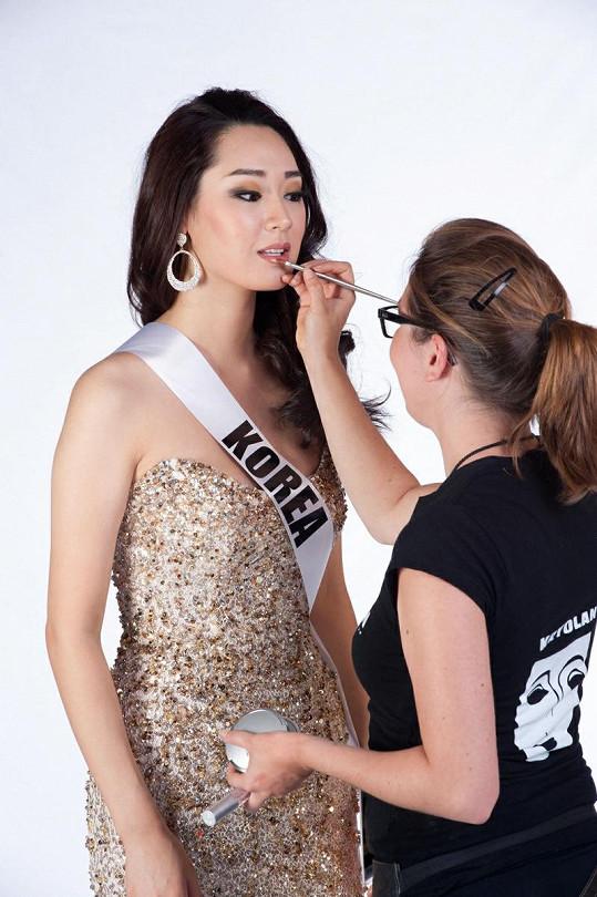 Miss Korea Sora Chong.