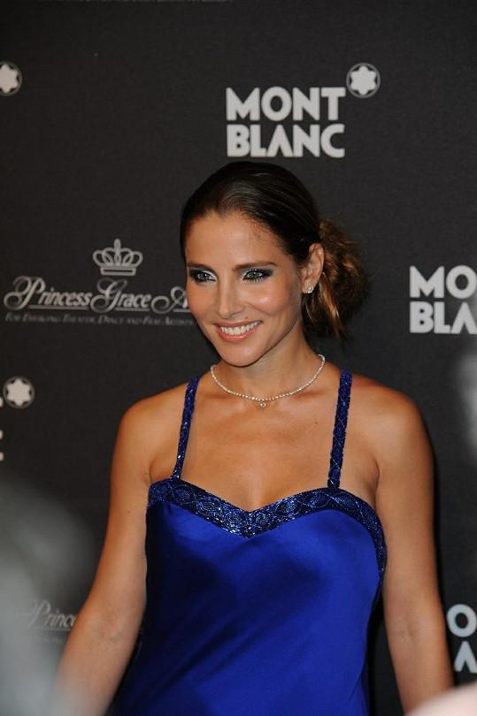 Okouzlující španělská herečka Elsa Pataky.
