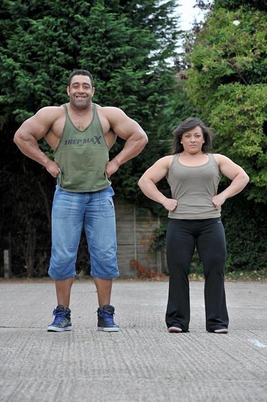 Tohle je prý nejsilnější pár Velké Británie.