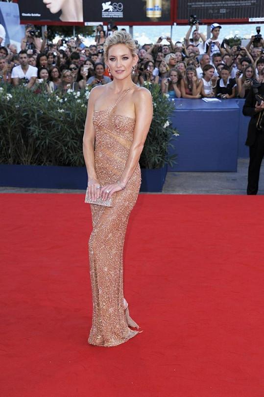 Kate Hudson vypadala nádherně.
