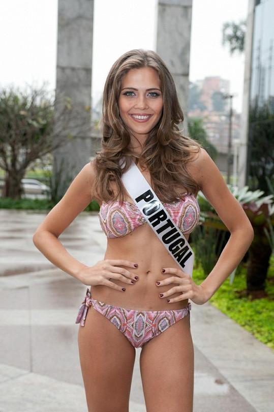 Miss Portugalsko Laura Gonzalves.