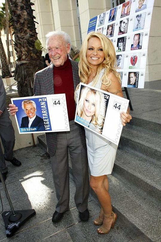 Pamela Anderson v Hollywoodu.