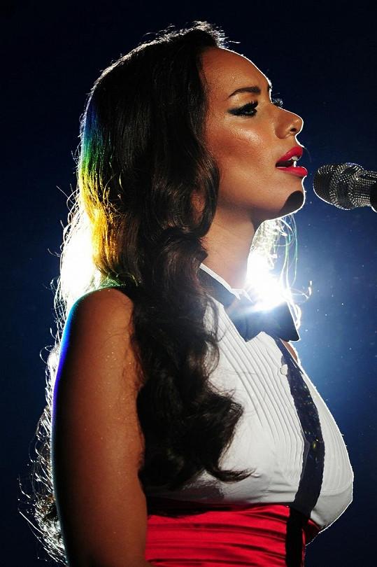 Zpěvačka Leona Lewis.