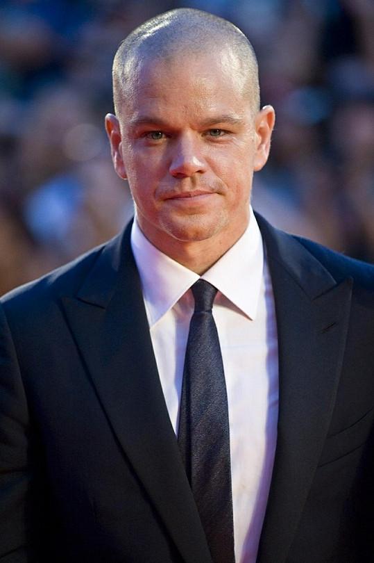 Herec, režisér a producent Matt Damon.