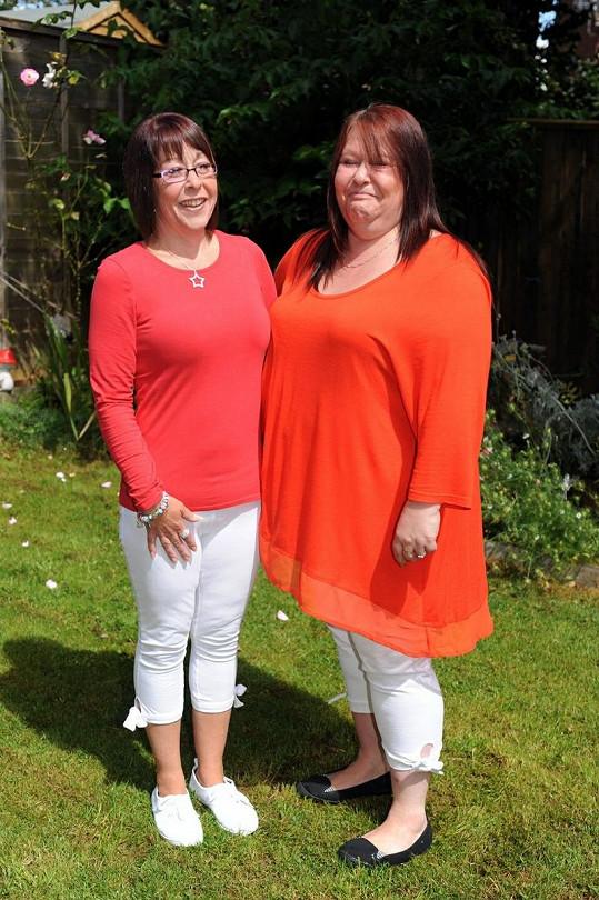 Stacey dnes neváží ani 60 kilogramů, zhubla více než polovinu své původní váhy.