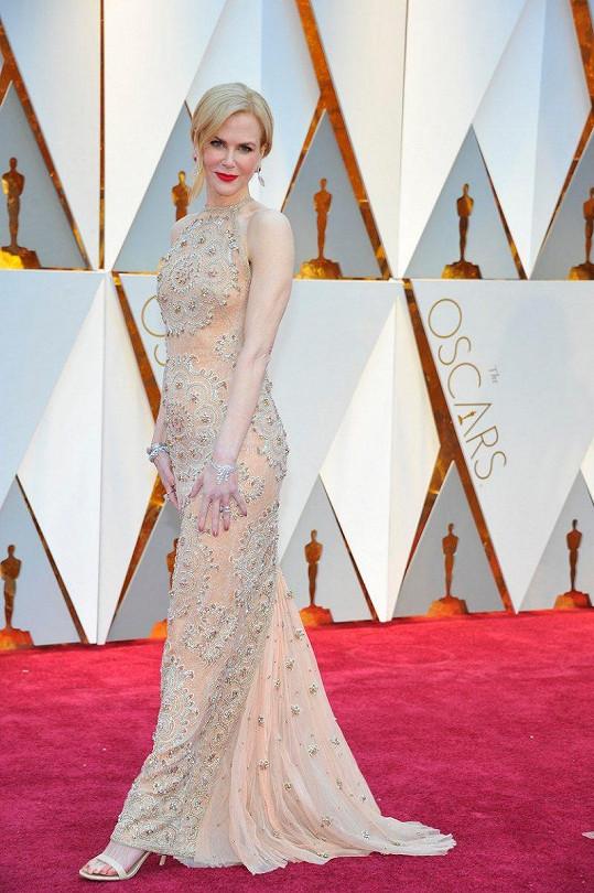 Nicole na nedávném udílení Oscarů.