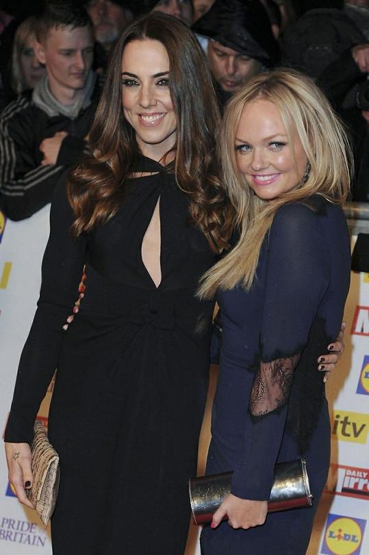 Bývalé spajsky na akci Britain Awards 2012.