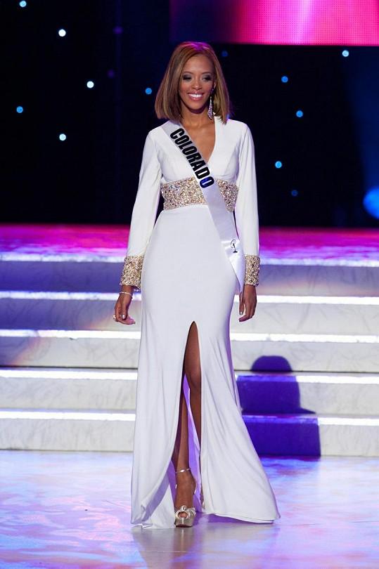 Blair Griffith byla na Miss USA krásná a elegantní, k vítězství to ale nestačilo.