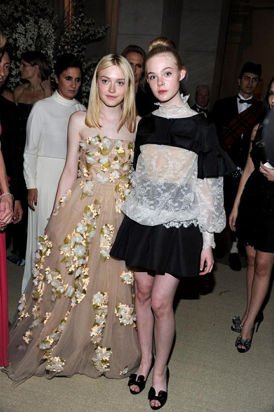 Umístily se například i mladinké Elle a Dakota Fanning.