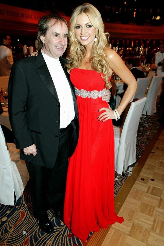 Rosanna a její slavný otec Chris de Burgh.