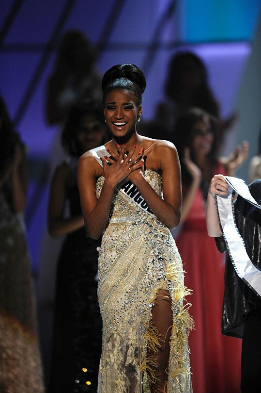 Miss Universe 2011 Leila Lopes.