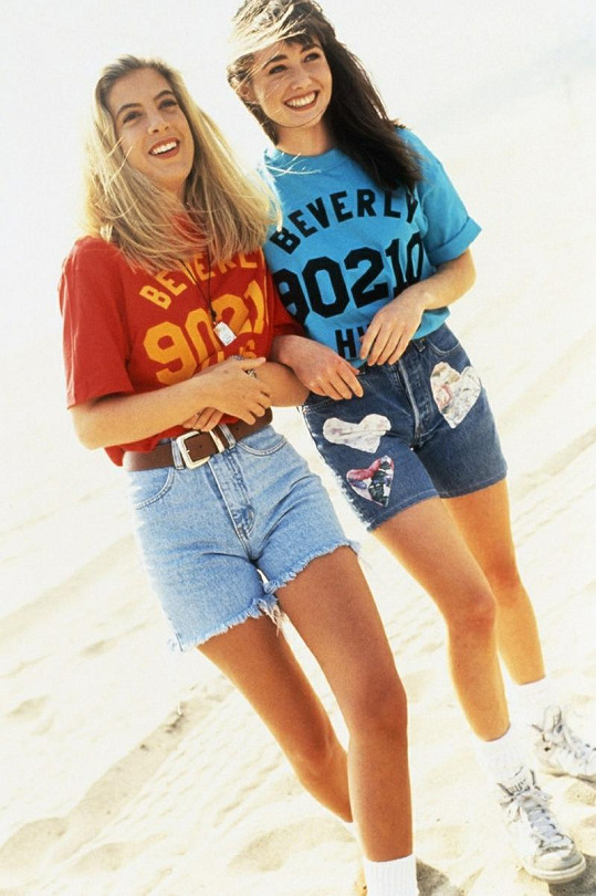 Shannen Doherty a Tori Spelling alias Brenda s Donnou.