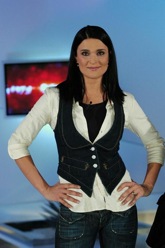 Mahulena Bočanová byla první moderátorkou Top Staru.