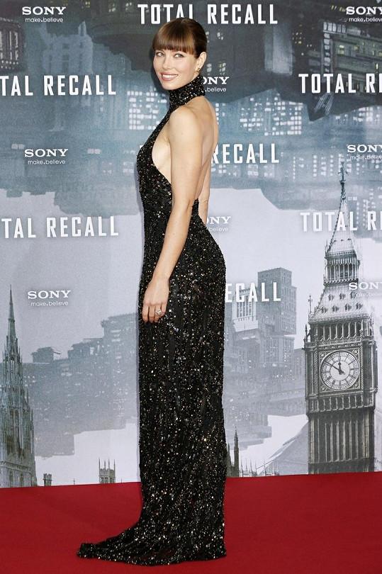 Přítelkyně Justina Timberlakea má perfektní postavu.
