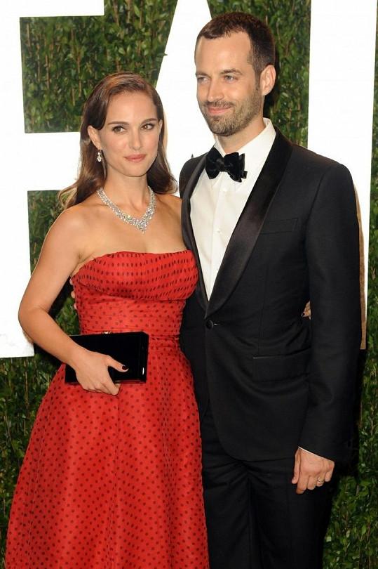 Natalie Portman s manželem.
