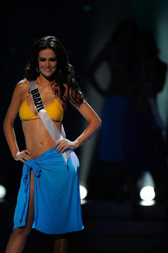 Priscila Machado z Brazílie skončila třetí.