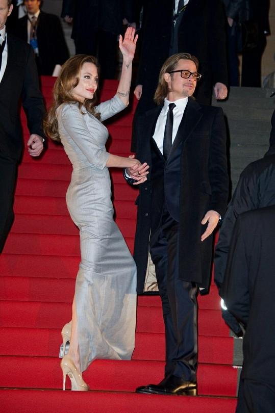 Vždy elegantní pár zvaný Brangelina.