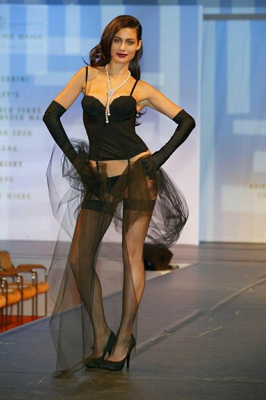 Krásná modelka Marica Pellegrinelli.