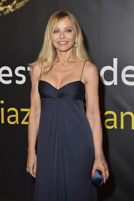 Krásná herečka na letošním festivalu ve švýcarském Locarnu.