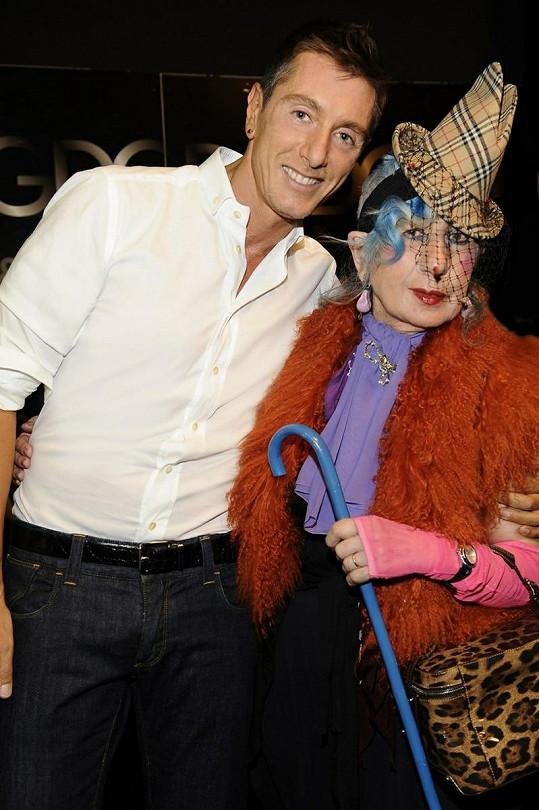 Smutek z odchodu své přítelkyně vyjádřil jako první na sociální síti Stefano Gabbana.