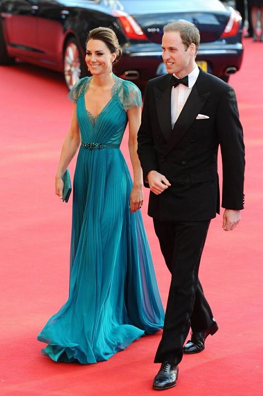 William a Catherine byli na galakoncertu opět nejsledovanějším párem.