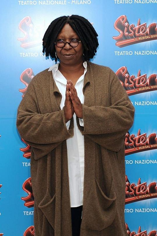 Whoopi Goldberg se přiznala, že pracovala jako operátorka na erotické lince.