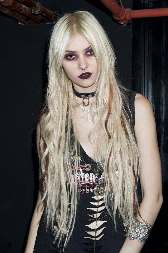 Taylor Momsen a její změna image.