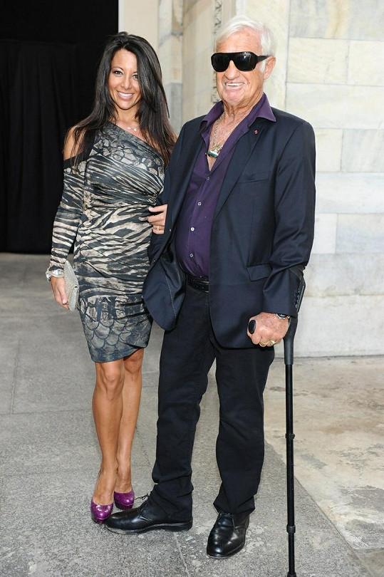 Jean-Paul Belmondo a Barbara Gandolfi.