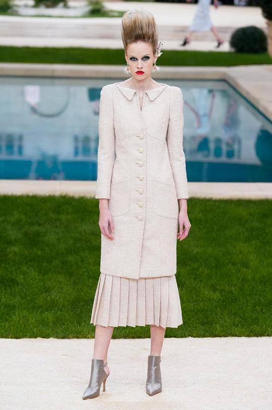 Měšťanová měla tu čest jít přehlídku módního domu Chanel.