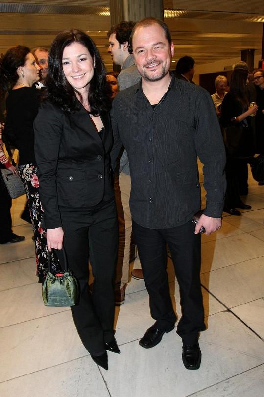 S manželkou Martinou Preissovou