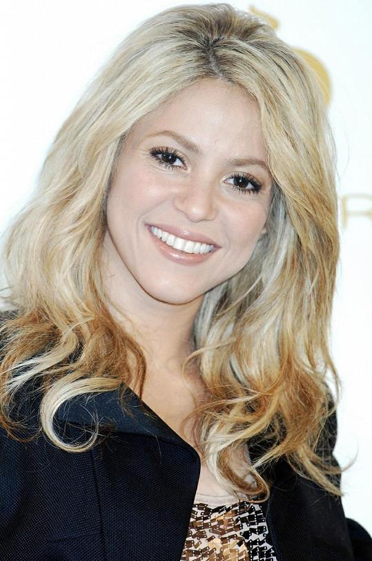 Zpěvačka Shakira