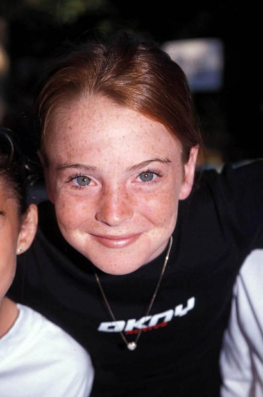 Jedenáctiletá Lindsay Lohan byla velmi roztomilá.