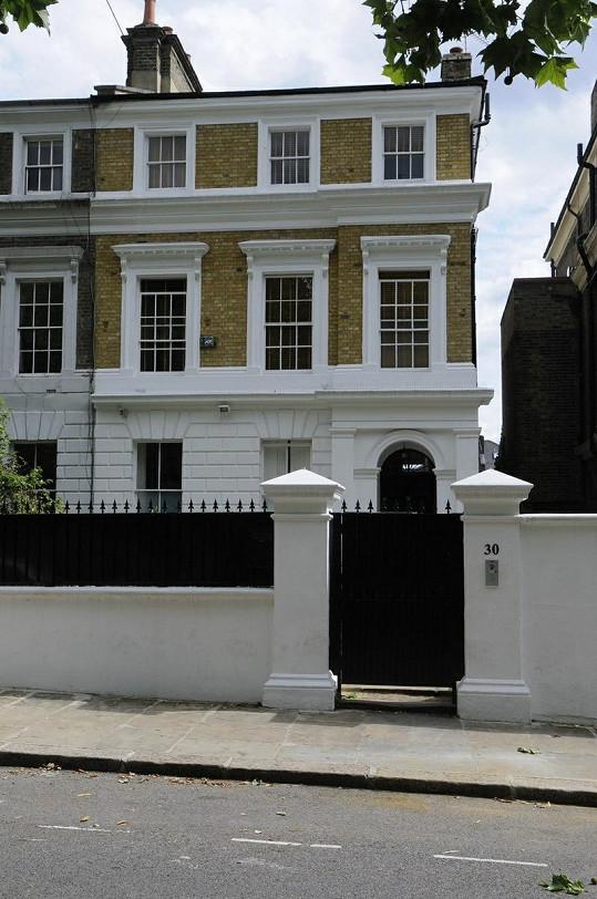 Dům Amy Winehouse