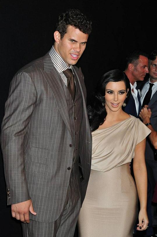 Manželi vydrželi být Kim Kardashian a Kris Humphries pouhých 72 dní.