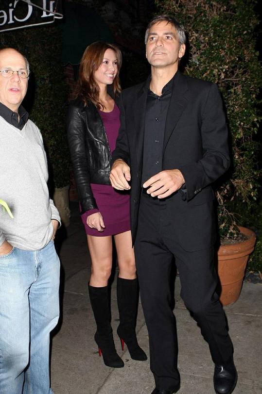 Lisa s Georgem v prosinci 2007.