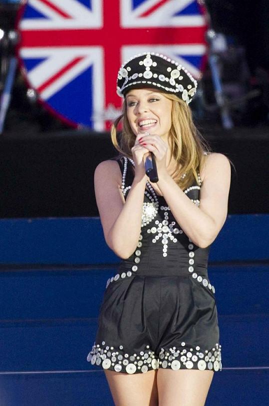Chybět nemohla ani Kylie Minogue.