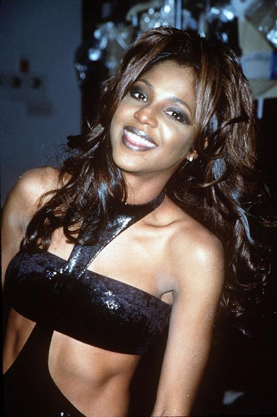 R'n'B diva Toni Braxton v roce 1997.