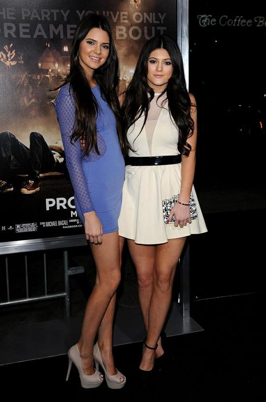 Kendall a Kylie na premiéře filmu Project X.