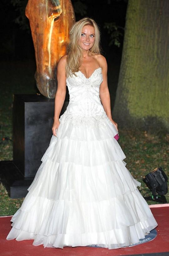 Geri Halliwell vypadala jako princezna.